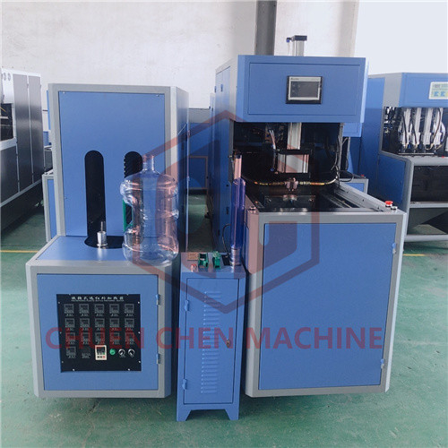 Plastic Bottle Semi Automatic Blow Molding Machine / Plastic Bottle Moulding Machine