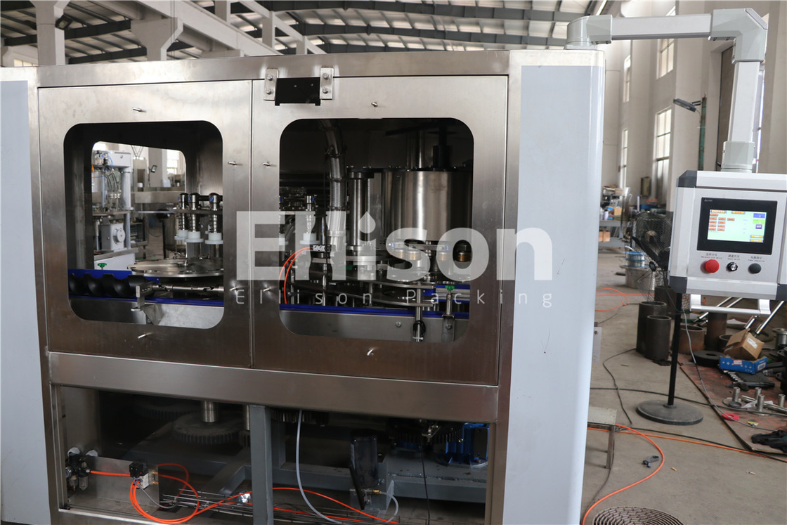 Belt Conveyor Touch Screen Plastic Bottle Filling Machine